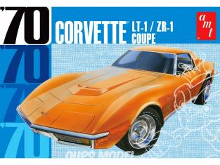 AMT maquette voiture 1097 Chevy Corvette Coupe 1970 1/25