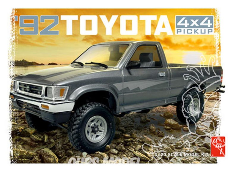 AMT maquette voiture 1082 Toyota 4X4 Pick-Up 1992 1/25
