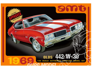 AMT maquette voiture 1105 Olds 442 W-30 1969 1/25
