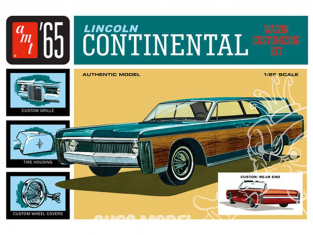 AMT maquette voiture 1081 Lincoln Continental 1965 1/25