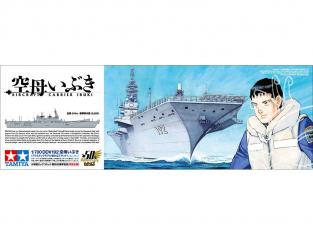 Maquette bateau TAMIYA 25413 DDV 192 porte-avions 1/700
