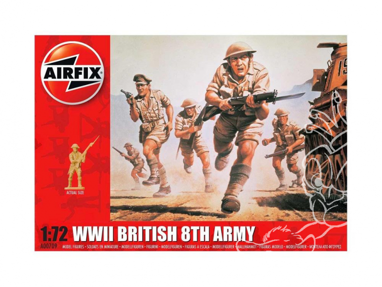 Airfix maquette militaire 01709 8th Army 1/72