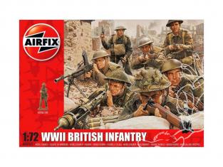 Airfix maquette militaire 00763 Infanterie britanique 1/72