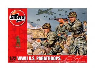 Airfix maquette militaire 00751 parachutistes US 1/72