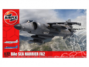 Airfix maquette avion A04052A BAe Sea Harrier FA2 1/72