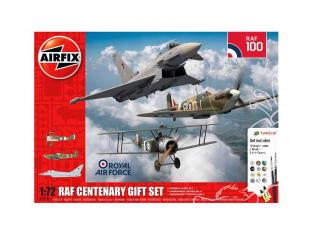 Airfix maquette avion A050181 Coffret cadeau du centenaire de la RAF 1/72