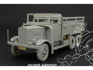 Hauler kit d'amélioration HLS48006 Krupp L3H Camion de la Wehrmacht 1/48