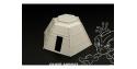 Hauler Accessoire diorama HLP72017 Casemate Japonaise en acier 1/72