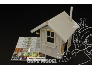 Hauler accessoire diorama HLX48019 Kiosque vente de cigarettes et tabac 1/48