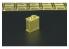 Hauler accessoires diorama HLU35012 Bidons de carburant britanniques en photodecoupe 1/72