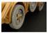Hauler Kit d'amelioration HLU35046 Roues pour Autoblinda AB-41/43 pour Kit italeri 1/35