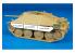 Hauler Kit d'amelioration HLU35033 Hetzer pour Kit tamiya 1/35