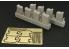 Hauler kit d'amélioration HLX48198 Jerrycans U.S avec support pour tous kits 1/48
