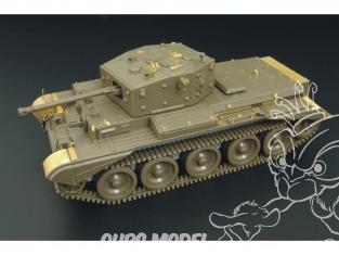 Hauler kit d'amélioration HLX48108 CROMWELL Mk.IV pour kit Tamiya 1/48