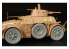 Hauler Kit d'amelioration HLX48263 Roues AUTOBLINDA AB41 pour Kit TAMIYA Supermodel 1/35