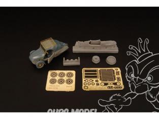 Brengun kit d'amelioration BRL72130 Velorex pour kit Eduard 1/72