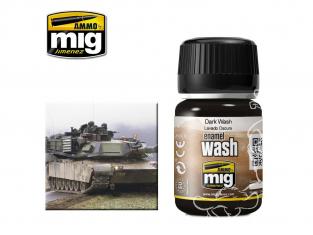 MIG approchez de tres près la réalité 1008 Lavis pour camouflage NATO (35ml) AK-075