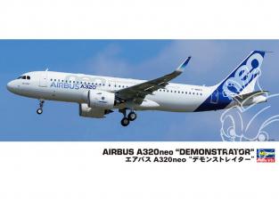 Hasegawa maquette avion 10823 Airbus A320neo presentation 1/72