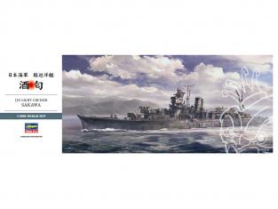 HASEGAWA maquette bateau 40098 Croiseur leger Japonais SAKAWA 1/350