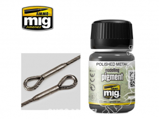 MIG pigments 3021 Métal poli - Polished metal 35ml