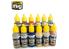 MIG peinture 7175 Set couleurs Métalliques 12 x 17ml