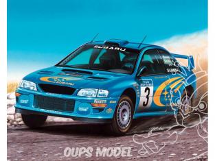 HELLER maquette voiture 80194 Subaru Impreza WRC 2000 1/43