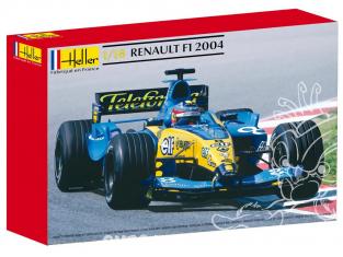 Heller maquette voiture 80797 Renault F1 2004 1/18