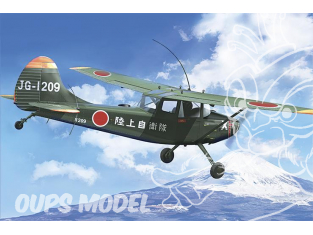 roden maquette avion 627 L-19/O-1 Bird Dog Asian Service 1/32