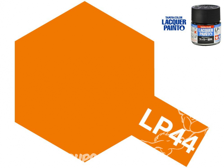 Peinture laque couleur Tamiya LP-44 ORANGE METAL 10ml