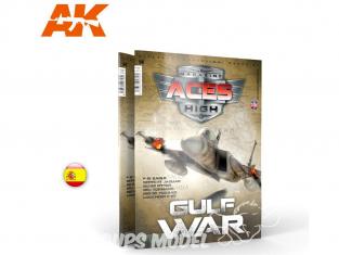 Ak interactive Magazine Aces High AK2928 N°13 Guerre du Golfe En Espagnol