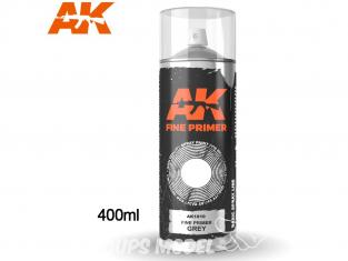 Ak Spray AK1010 Bombe d'appret fin gris 400ml Fine Primer
