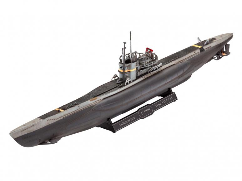 Revell maquette bateau 5154 U-Boot Typ VII C/41 1/350