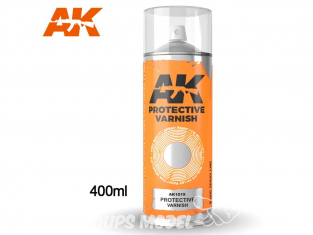 Ak Spray AK1015 Bombe de vernis de protection 400ml
