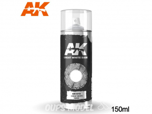 Ak Spray AK1019 Bombe d'appret base blanche 150ml Great white base