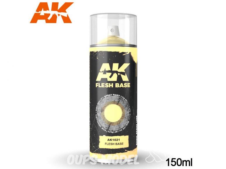 Ak Spray AK1021 Bombe d'appret chair 150ml Flesh base