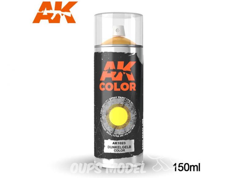 Ak Spray AK1023 Bombe peinture Dunkelgelb 150ml