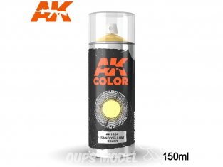 Ak Spray AK1024 Bombe peinture Jaune sable - Sand Yellow 150ml