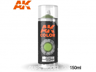 Ak Spray AK1026 Bombe peinture Vert Russe - Russian Green 150ml