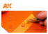 Ak interactive AK8057 Tapis de coupe pour Masques Type 2 Easycutting