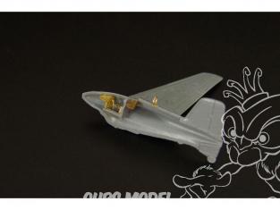 Brengun kit d'amelioration avion BRL144034 Me 163B Komet 2pcs pour kit Brengun 1/144