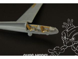 Brengun kit d'amelioration avion BRL144133 LET L-13 Blaník 2pcs pour kit Mark I 1/144