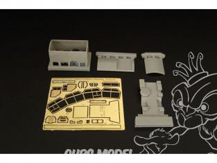 Brengun kit d'amelioration vehicule BRL144132 MAN EMMA FSA 70 tour mobile pour kit Revell 1/144