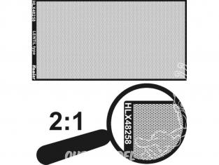 Hauler accessoire HLX48258 plaque gravée type lentille 1/48
