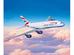 Revell maquette avion 03922 Airbus A-380-800 British Airways 1/144