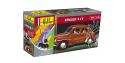 HELLER maquette voiture 56174 Renault 4CV  inclus peintures principale colle et pinceau 1/43