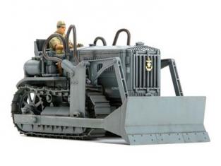 TAMIYA maquette militaire 32565 Bulldozer KOMATSU G40 1/48