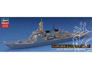 "Hasegawa maquette bateau 30051 J.M.S.D.F DDG MYOKO Navire d'escorte de la Force d'autodéfense maritime ""Hyper Detail"" 1/700"