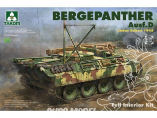 Takom maquette militaire 2102 Sd.Kfz. 179 PzKpfw V Bergepanther Ausf.D (Umbau Siebert) 1/35