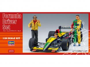 Hasegawa maquette voiture 20341 Ensemble de pilotes de formule 1 1/24