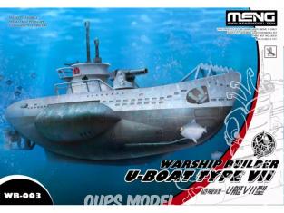 Meng maquette sous marin WB-003 U-boat type VII Cartoon